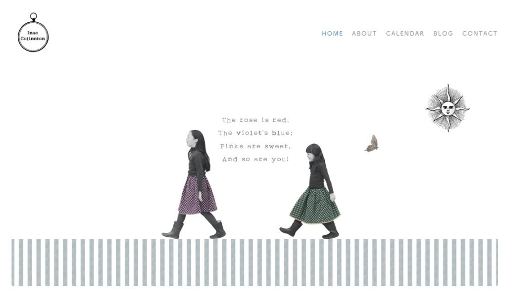 Inae Colinntonさま ホームページ