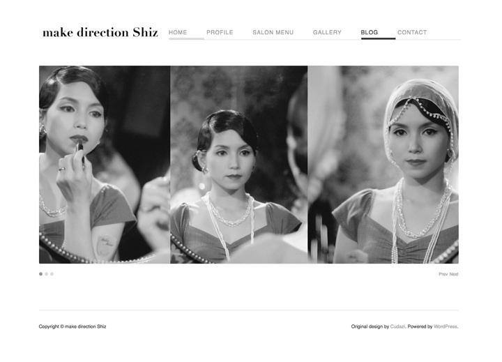 make direction Shizさま ホームページ
