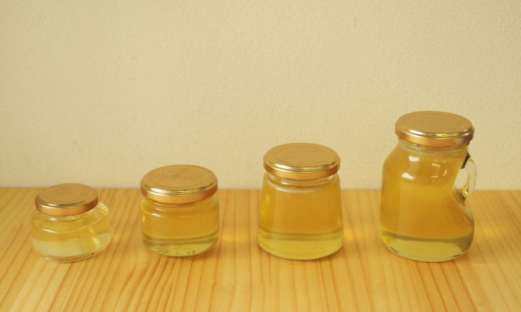 ハニープラスさんの蜂蜜を飲んでいたら