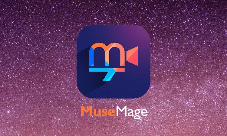 遊べてかわいい!動画編集アプリ【Musemage】楽しすぎる