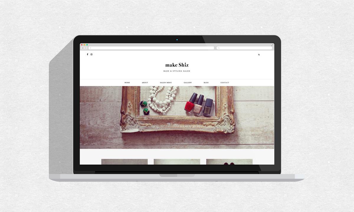 make Shiz ホームページリニューアル&アメブロヘッダー画像デザイン