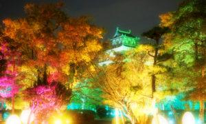 【フォトジェニック】チームラボ広島城光の祭りレポ
